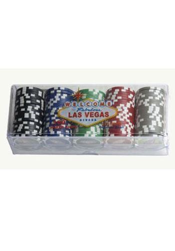 100 piece royal flush chips in tray book cover