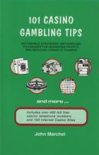 101 casino gambling tips book cover