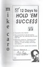 12 days to holdem success book cover