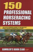 150 professional horseracing systems book cover