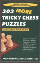 303 more tricky chess puzzles book cover
