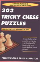 303 tricky chess puzzles book cover
