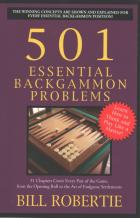 501 essential backgammon problems book cover