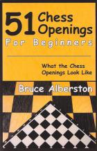 51 chess openings for beginners book cover