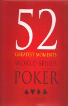 52 greatest moments world series of poker book cover
