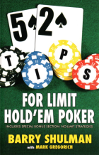 52 tips for limit holdem poker book cover