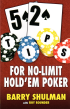 52 tips for nolimit holdem poker book cover
