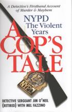 a cops tale nypd the violent years hardcover book cover