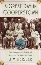 a great day in cooperstown hardcover book cover