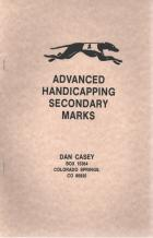 advanced handicapping secondary marks book cover