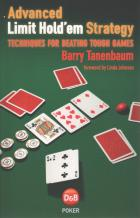 advanced limit holdem strategy book cover