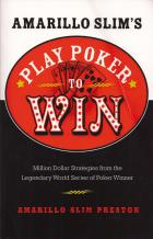 amarillo slims play poker to win book cover