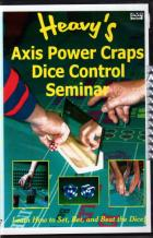 axis power craps dice control seminar  audio cd book cover