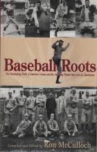 couverture fascinante de livre de jeu de naissance des amériques de racines de baseball
