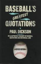 baseballs great quotations book cover