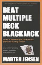 beat multiple deck blackjack book cover