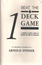 beat the 1 deck game book cover
