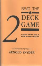 beat the 2 deck game book cover