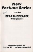 beat the dealer blackjack 21 book cover