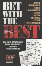 bet with the best strategies from leading handicappers book cover
