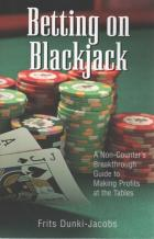 betting on blackjack book cover