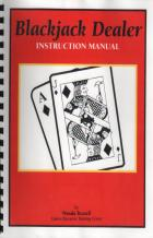 blackjack dealer instruction manual book cover