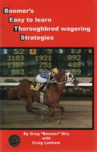 boomers easy to learn thoroughbred wagering strategies book cover
