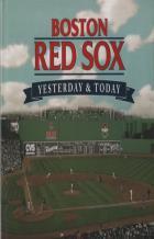 boston red sox hier aujourd'hui couverture de livre
