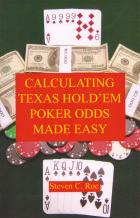 calculating texas holdem poker odds made easy book cover