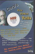caro pro poker tells dvd book cover