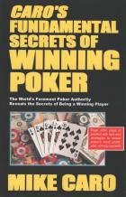 caros fundamental secrets of winning poker book cover