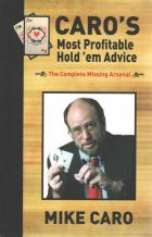 caros most profitable holdem advice book cover