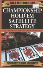 championship holdem satellite strategy book cover