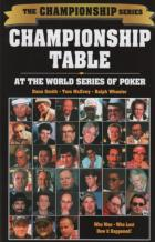 championship table at the world series of poker book cover