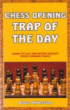 chess opening trap of the day book cover