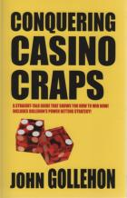 conquering casino craps book cover