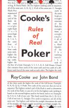 cookes rules of real poker book cover