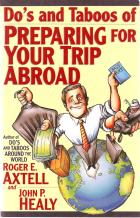dos  taboos of preparing for your trip abroad book cover