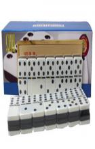 double 6 two tone jumbo domino book cover