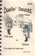 duelin deuces video poker book cover