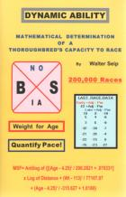 dynamic ability mathematical determination of thoroughbred book cover