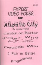 expert video poker for atlantic city book cover