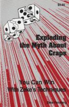 exploding the myth about craps book cover