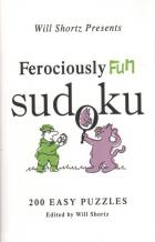 ferociously fun sudoku 200 easy puzzles book cover