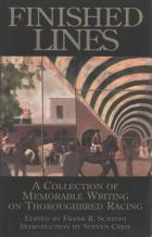 finished lines collection of thoroughbred racing writing book cover