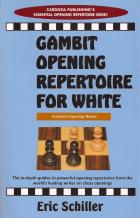 gambit opening repertoire for white book cover