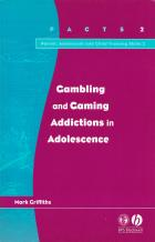 gambling and gaming addictions in adolescence book cover