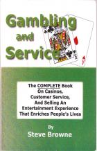 gambling and service book cover