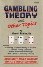 gambling theory and other topics book cover