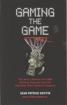 gaming the game hardcover book cover